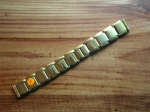 15 mm vintage ss Flex Bracelet from the 50s No102