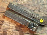 16 mm vint. Leather custom Strap No 599