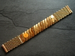 16 mm vintage rose Gold plated Flex Bracelet from the 50s No278