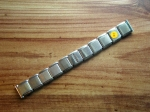 16 mm vintage ss Flex Bracelet from the 50s No101