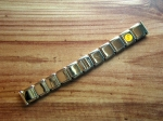 16 mm vintage ss Flex Bracelet from the 50s No103