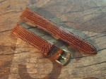 17 mm Vintage Lizard Strap No 759