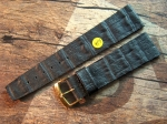 18 + 19 +20 +21 mm vintage Caiman Strap from the 50s No 486