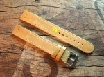 18 mm Military Calf Leather custom Strap No 593