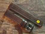 18 mm vint. Leather custom Strap No 600