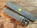 18 mm vint. Leather custom Strap No 601