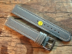 18 mm vint. Leather custom Strap No 602