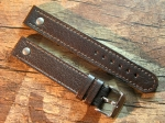 18 mm vint. Leather Elias custom Strap No 614
