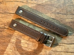 18 mm vint. Leather Elias custom Strap No 617