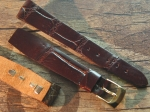 18 mm Vintage Alligator Strap No 745