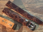 18 mm Vintage Alligator Strap No 747