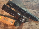18 mm Vintage Alligator Strap No 750