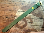 18 mm vintage Perlon Military Strap from the 60s No145