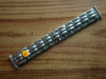 18 mm vintage ss Flex Bracelet from the 50s No105
