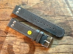 20 mm Juchten Leather custom Strap No 588