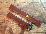 20 mm Military Calf Leather custom Strap No 592