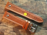 20 mm NIMITZ Calf Leather custom Strap No 585