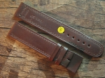 20 mm NIMITZ calf Leather custom Strap No 595