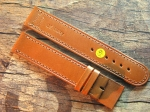 20 mm NIMITZ calf Leather custom Strap No 597