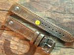 20 mm NIMITZ vint. Leather custom Strap No 608