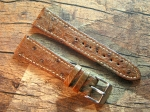 20 mm Ostrich Leather XS custom Strap No 577