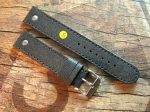 20 mm vint. Military Goat Skin Leather custom Strap No 580