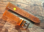 22 mm vint. Leather custom Strap No 571