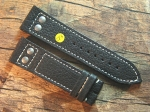 24 mm Buffalo Leather Big Pilot custom Strap No 583