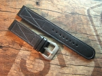 24 mm Calf Leather custom Strap No 566