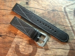 24 mm Calf Leather custom Strap No 567