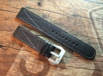 24 mm Calf Leather custom Strap No 568