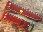 24 mm Calf Leather custom Strap No 586