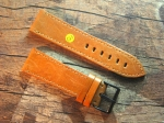 24 mm vint. Leather custom Strap No 573