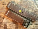 24 mm XL Calf Leather custom Strap No 587