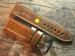 26 mm NIMITZ vint. Leather custom Strap No 563