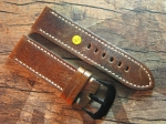 26 mm vint. Leather custom Strap No 565
