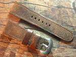 28 mm vint. Leather custom Strap No 569