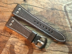 28 mm vint. Leather custom Strap No 574