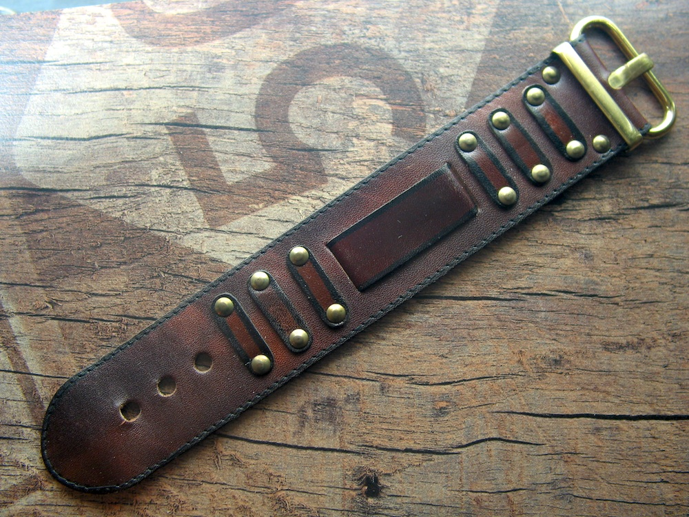 70s Hippie Style Vintage Strap 18 mm Lug size No 12