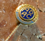 ADAC solid Gold Needle No 674