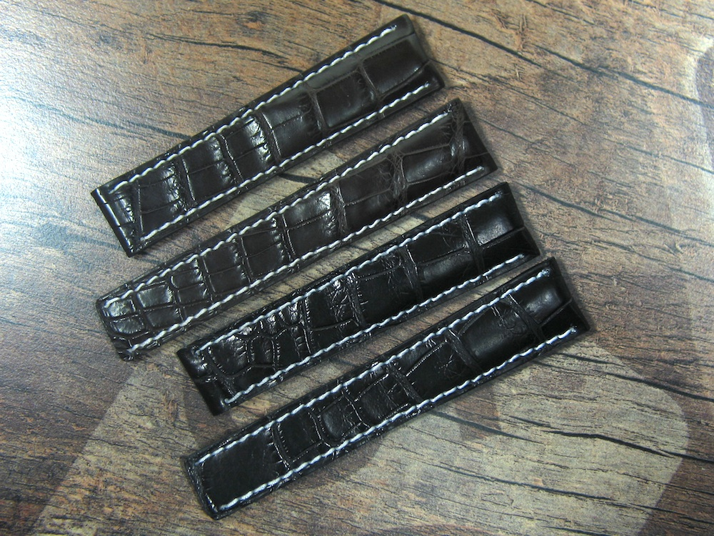 Breitling Louisiana Alligator Straps for new Clasp