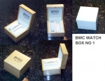 BWC Swiss NOS watch boxes