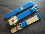 Character Watch Straps  18/16 mm blue No 281