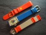 Character Watch Straps  18/16 mm orange No 284