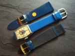 Character Watch Straps  22/18 mm blue No 285