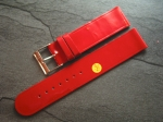 Character Watch Straps  20/20 mm red No 287