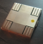 Cigarette Box solid Silver  No 692