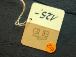 "Hang Tag ""GUB Glashütte""  No 257"