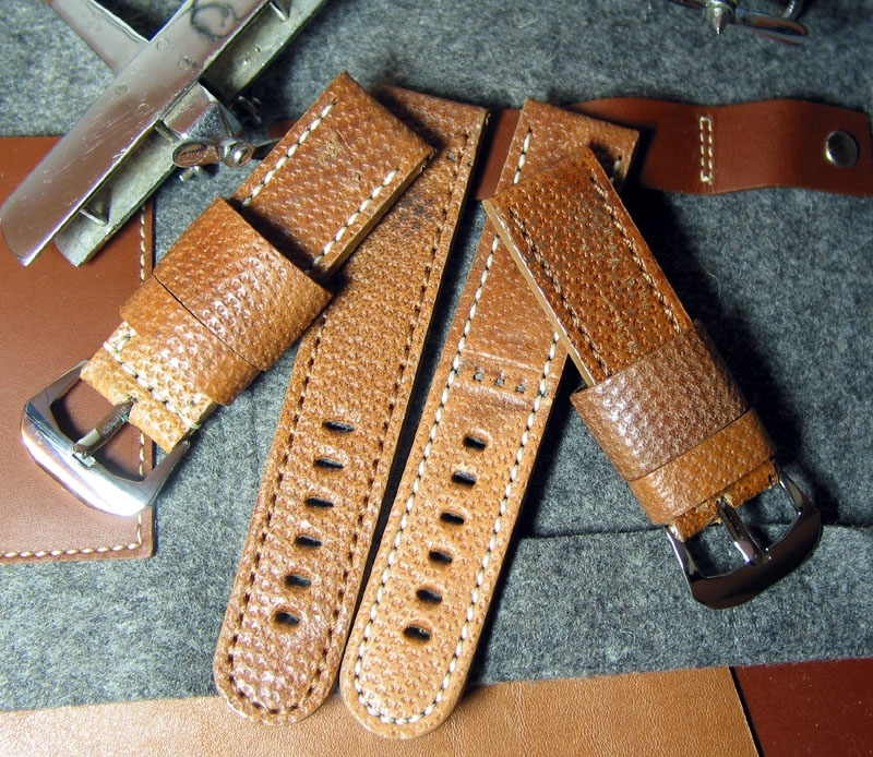 Vintage Swedish Holster custom Panerai Strap