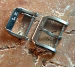 IWC Mark XV ss tang buckles 16 & 18 mm No 380
